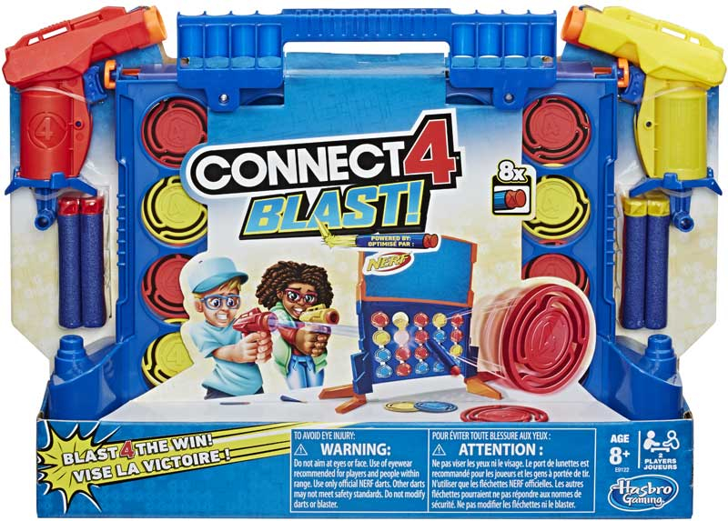 Wholesalers of Connect 4 Blast toys