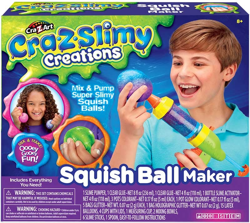 Wholesalers of Cra-z-slimy Creations Squish Ball Maker toys