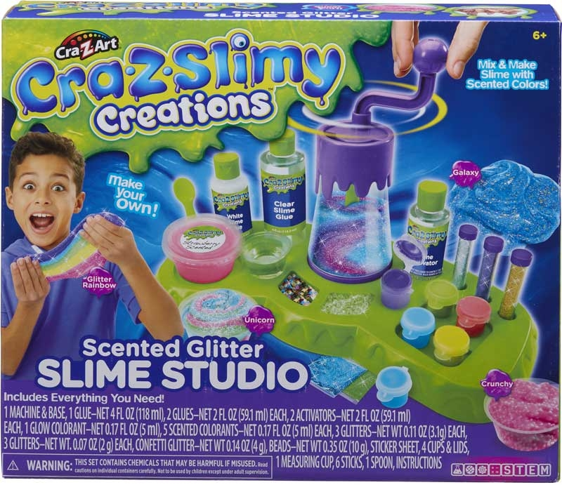 Wholesalers of Cra-z-slimy Creations Super Scented Slime Studio toys