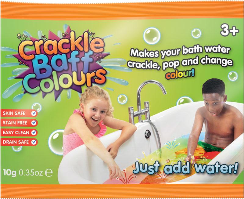 Wholesalers of Crackle Baff Colours Foil Bag - 20g toys
