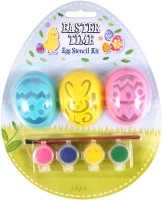 Wholesalers of Craft Easter Stencil Paint Kit 5pc toys image