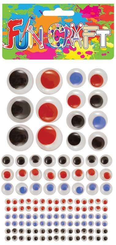 Wholesalers of Craft Kit Eyes Asst Sizes toys