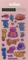 Wholesalers of Crafty Cats - Craft Stickers toys image