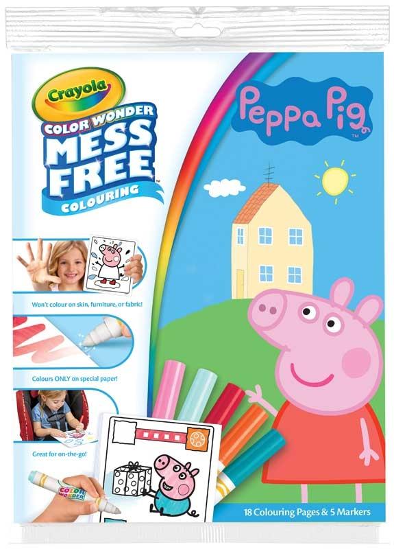 Wholesalers of Crayola Colour Wonder - Peppa Pig toys
