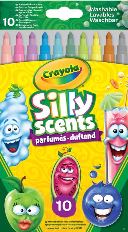 Wholesalers of Crayola 10 Fineline Scented Markers toys