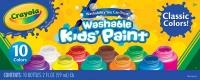 Wholesalers of Crayola 10 Washable Kids Paint toys image