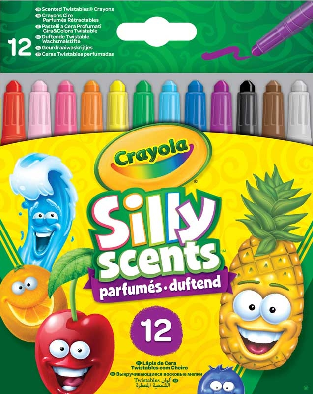 Wholesalers of Crayola 12 Scented Mini Twistable Crayons toys