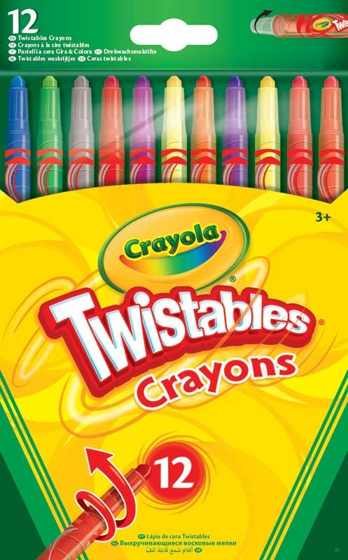Wholesalers of Crayola 12 Twistables Crayons toys