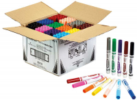 Wholesalers of Crayola 144 Assorted Broad Line Markers Classpack toys image
