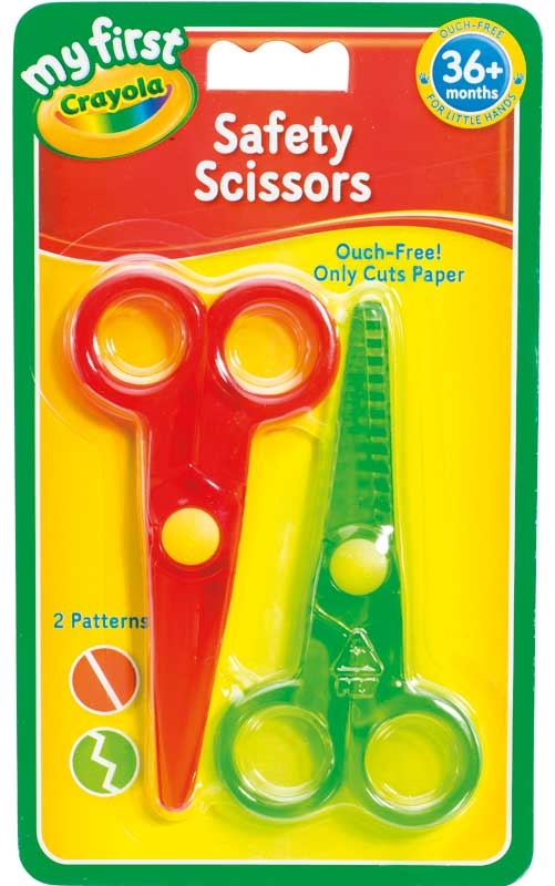 Wholesalers of Crayola 2 Safety Scissors toys