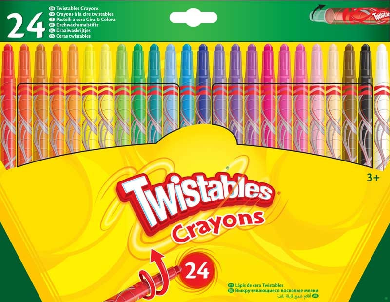 Wholesalers of Crayola 24 Twistables Crayons toys