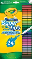 Wholesalers of Crayola 24 Washable Super Tips toys image