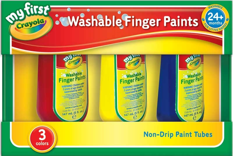 Wholesalers of Crayola 3 Washable Finger Paints toys