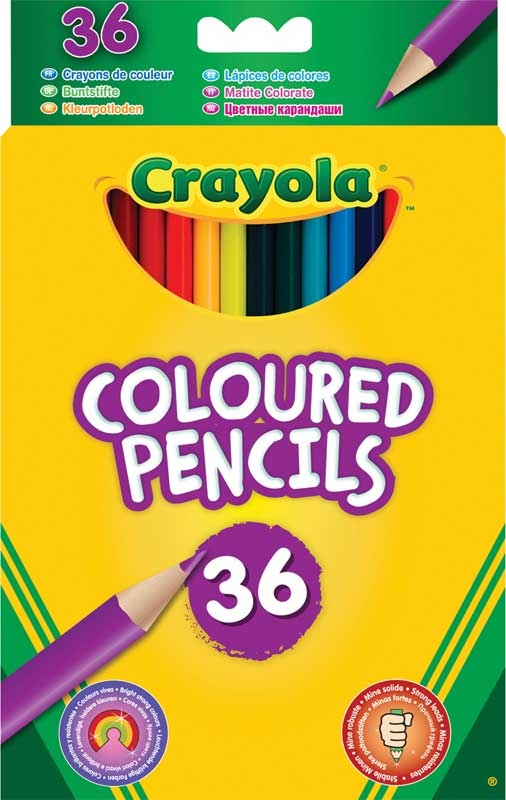 Wholesalers of Crayola 36 Coloured Pencils toys