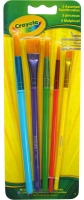 Wholesalers of Crayola 5 Paintbrush Asst toys image