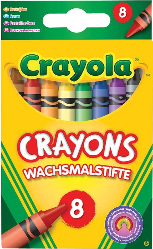 Wholesalers of Crayola 8 Asst Crayons toys