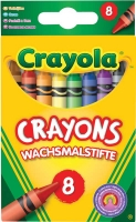 Wholesalers of Crayola 8 Asst Crayons toys image