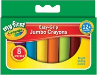 Wholesalers of Crayola 8 Easy-grip Jumbo Crayons toys image