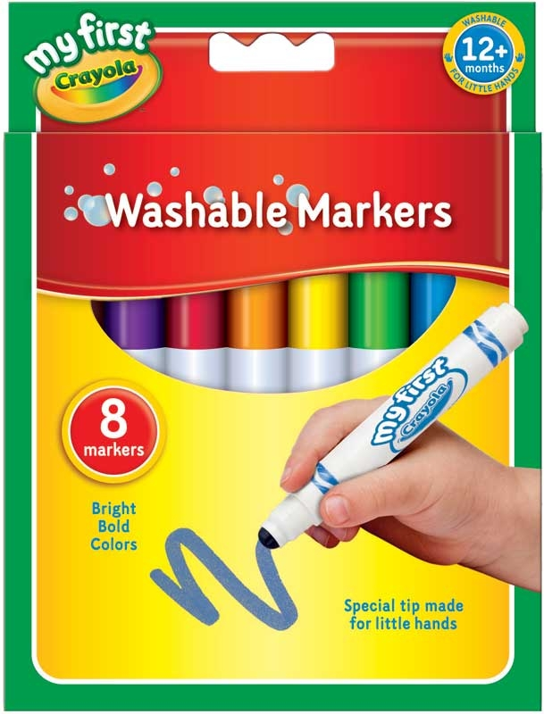Wholesalers of Crayola 8 First Markers toys