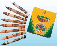 Wholesalers of Crayola 8 Mulitcultural Crayons toys image 2