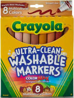 Wholesalers of Crayola 8 Multicultural Markers toys image