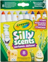 Wholesalers of Crayola 8 Silly Scents Broadline Stinky Markers toys image