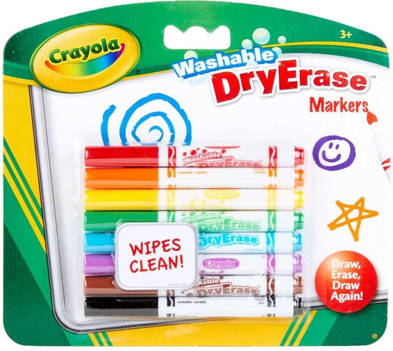 Wholesalers of Crayola 8 Washable Dry Erase Markers toys