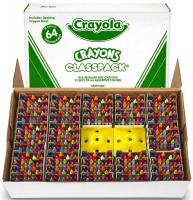 Wholesalers of Crayola 832 Crayon Classpack toys image