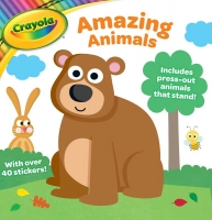 Wholesalers of Crayola Activity Book Amazing Animals toys image