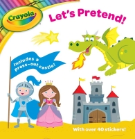 Wholesalers of Crayola Activity Book Lets Pretend toys image