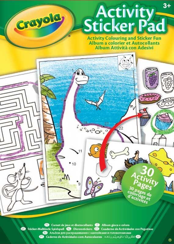 Wholesalers of Crayola Activity Sticker Pad toys