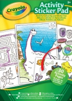 Wholesalers of Crayola Activity Sticker Pad toys image