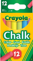 Wholesalers of Crayola Anti Dust Chalk - Coloured toys image