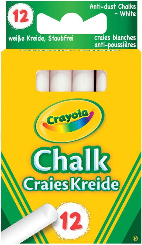 Wholesalers of Crayola Anti Dust Chalk - White toys