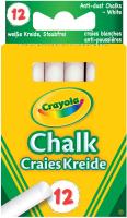Wholesalers of Crayola Anti Dust Chalk - White toys image