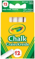 Wholesalers of Crayola Anti Dust Chalk - White toys image