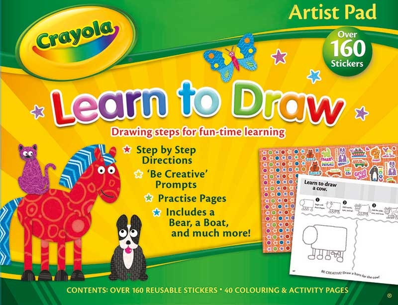 Wholesalers of Crayola Artist Pad - Learn To Draw toys