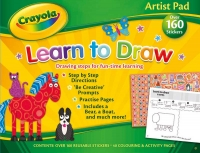 Wholesalers of Crayola Artist Pad - Learn To Draw toys image