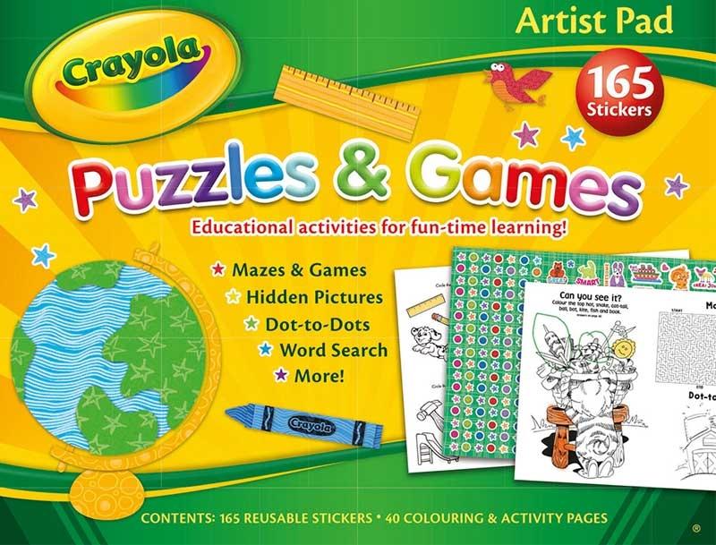 Wholesalers of Crayola Artist Pad toys