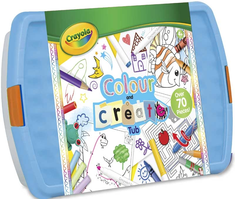 Wholesalers of Crayola Colour And Create Tub toys