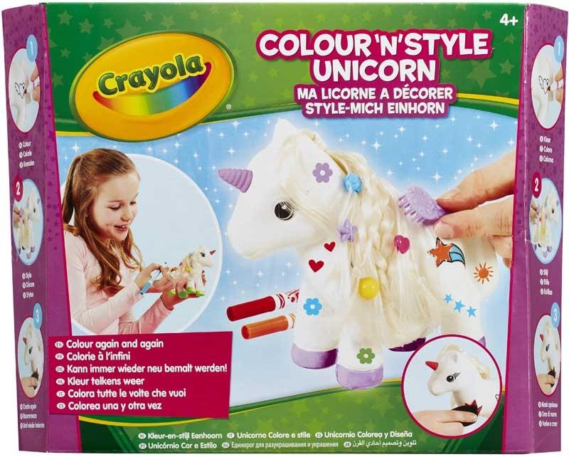 Wholesalers of Crayola Colour N Style Unicorn toys