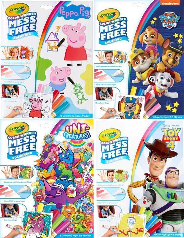 Wholesalers of Crayola Colour Wonder Asst toys