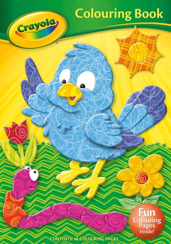 Wholesalers of Crayola Colouring Book Bird toys