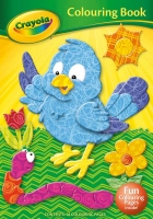 Wholesalers of Crayola Colouring Book Bird toys image