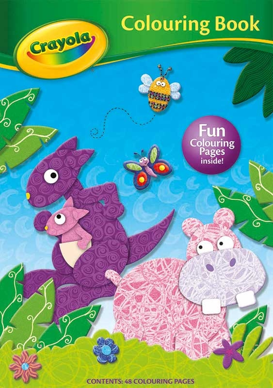 Wholesalers of Crayola Colouring Book Hippo toys