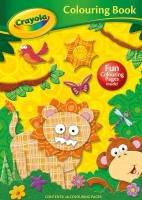 Wholesalers of Crayola Colouring Book Lion toys image