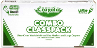 Wholesalers of Crayola Crayon And Marker Classpack Combo toys image 2