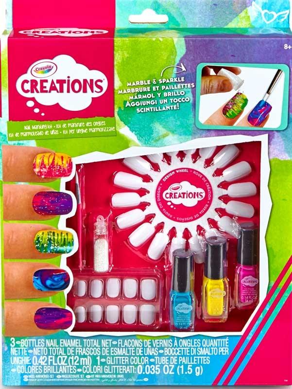 Crayola Creations Marble Nail Art Kit Wholesale