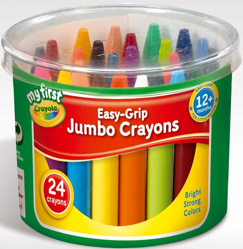 Wholesalers of Crayola Easy Grip Jumbo Crayons toys