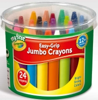 Wholesalers of Crayola Easy Grip Jumbo Crayons toys image